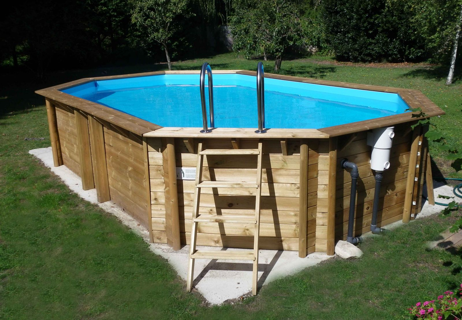 La contruction de ma piscine - Marina